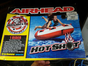 Hot shot airhead towable tube, brand new, never used, sealed