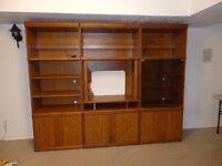 Free Shelving Unit with Lights