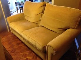 Two Double Seater Sofas