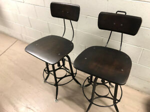 2 BAR STOOLS from RH 60% OFF