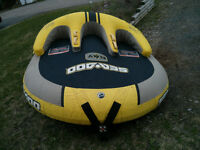 Sea-doo 3 seater tow behind inflatable tube