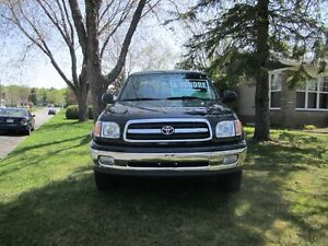 2000 Toyota Tundra cuir Camionnette