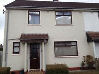 3 Bedroom/ 2 Bathroom End Terrace House Finaghy (Torr Way) with garden