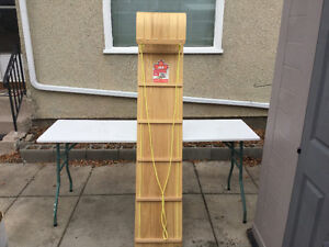 Toy Wooden Toboggan-Canadian made -Used once Edmonton Edmonton Area image 2