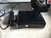 Xbox 360 250gb with some games