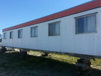10 X 54 FOOT ATCO CAMP TRAILER WITH 6 BEDROOMS / $11,200