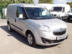 Vauxhall Combo 2000 1.3cdti L1 H1 Sportive 90ps DIESEL MANUAL SILVER (2014)