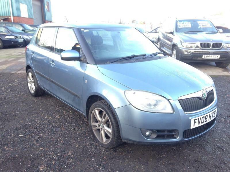 2008 08 skoda fabia 1 9tdi pd105bhp 3 long mot excellent runner in small heath west midlands. Black Bedroom Furniture Sets. Home Design Ideas