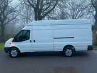 2013 Ford Transit H/Roof 4m L4 H3 Jumbo 2.2 TDCi NO VAT PANEL VAN Diesel Manual