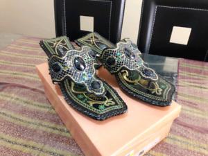 Sandals & Winter boots.  Tougher.