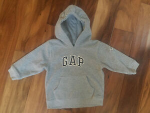 GAP Grey Hoodie, Size 18-24 month - soft and cozy warm!