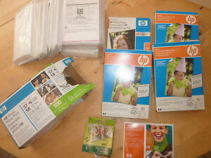 Lots and lots of 4x6 premium photo paper, new printer cartridge Kitchener / Waterloo Kitchener Area image 1