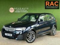2014 BMW X3 3.0 XDRIVE30D M SPORT 5d 255 BHP Estate Diesel Automatic
