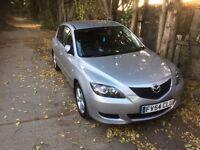 Mazda 3, 2004- 1.6 litre petrol. 12 months mot