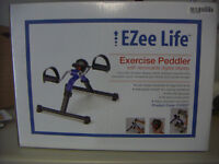 Exercise Peddler with digital display [use while seated]