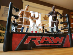 WWE Superstars Raw Ring & Action Figures