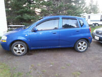 2008 Chevrolet Aveo Hatchback for parts or repair