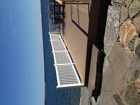 Deck or Dock Railings
