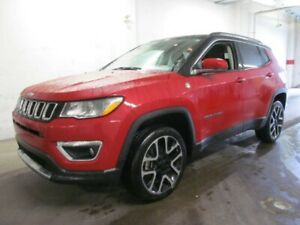2017 Jeep Compass Limited - Sunroof, Heated Leather Seats, NAV a