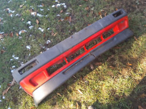 VW MK2 GTI golf front bumper with euro vr6 lower chin spoiler