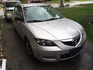 2007 Mazda 3 with Bluetooth DVD touchscreen deck