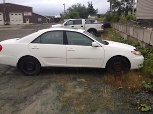 2002 Camry XLE v6 for parts or repair