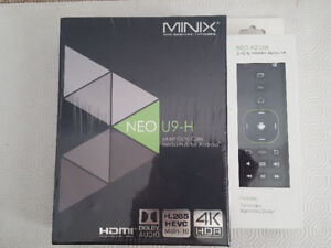 MINIX Neo U9-H, 64-bit Octa-Core Media Hub W/ A2 LITE AIR MOUSE