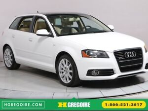 2011 Audi A3 2.0T Premium MAGS BLUETOOTH CUIR TOIT OUVRANT