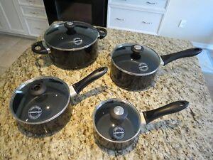 Lagostina Ticino Non-Stick Cookware Set, 8-pc