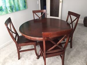 Pier 1 Imports Extendable Dining table and chairs