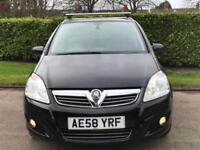 2008 Vauxhall Zafira 1.9CDTi Design***LOW MILES 59,858 + 7 SEATER***