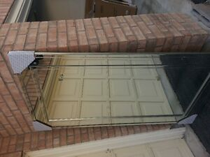 HUGE EXTRA LARGE WALL MIRROR WITH DOUBLE MIRROR FRAME 3FT X 6FT