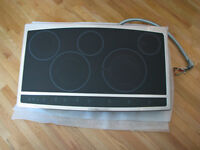 "36"" Electrolux Induction/Radiant Hybrid Cooktop"