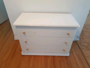 Comode 3 tirois / Dresser with 3 drawers