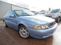 2004 VOLVO C70 2.0 PETROL TURBO CONVERTIBLE LOW MILAGE