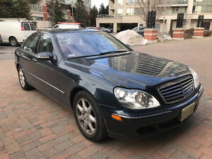 2005 Mercedes-Benz S-Class **NO ACCIDENTS & VERY LOW KMS**