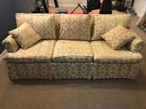 Beautiful Three Seat Couch - Clean and Comfortable