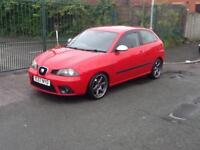 Seat Ibiza 1.9TDI 130 2008MY FR FINANCE AVAILABLE WITH NO DEPOSIT NEEDED