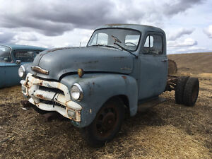 1955 first series Chev one ton dually