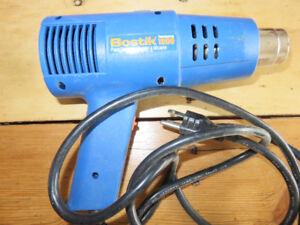 pistolet à décaper, paint stripper Bostik 1200 , 2 réglages