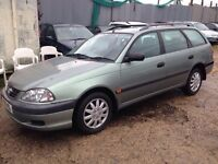 Toyota avensis d4d estate diesel low millage one of the cleanest in the country 595