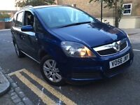 Vauxhall Zafira 1.8 i 16v Active 2007 7 SEATS+A/C+HISTORY+2 KEYS+FAMILY CAR