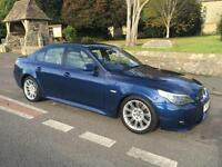 2005 55 BMW 5 SERIES 530d 3.0 DIESEL SPORT 218BHP SALOON 6 SPEED AUTO TRIPTRONIC