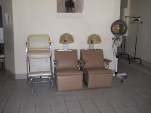Salon Dryer Chairs and Spa Pedicure Chair
