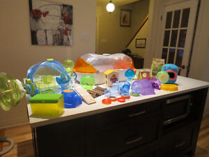 Hamster/gerbil homes and accessories