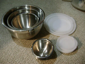 Stainless Steel Set of Bowls