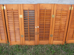 Shutters-wooden, louvered Kitchener / Waterloo Kitchener Area image 2