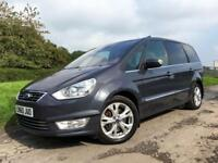 Ford Galaxy 2.0 EcoBoost Powershift Titanium 2011 Automatic 7 Seats Grey