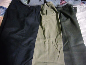 dress pants 32 1/2 waist X 28 inseam (they were altered) London Ontario image 4