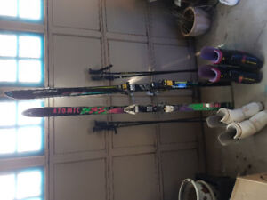 Skiis, Boots & Poles $80 OBO For The Set